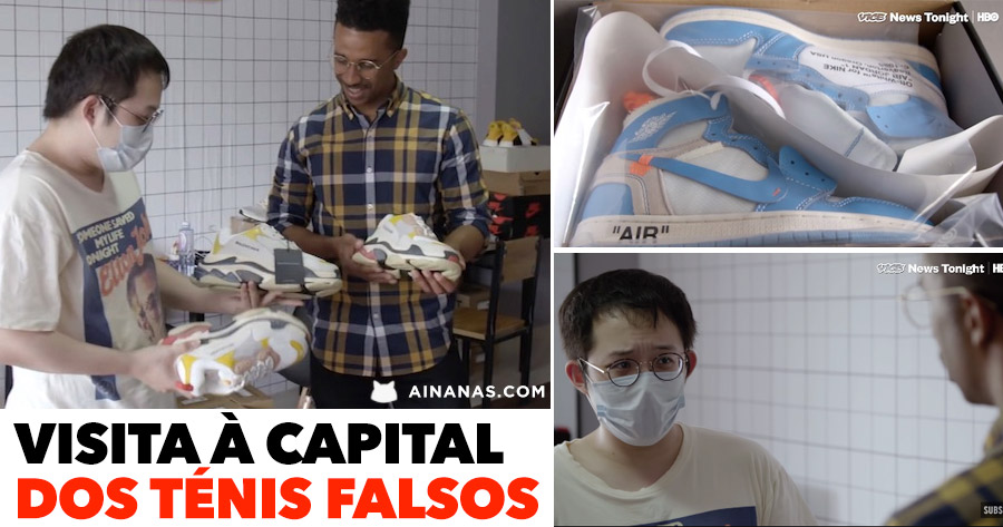 Visita à capital dos TÉNIS FALSOS