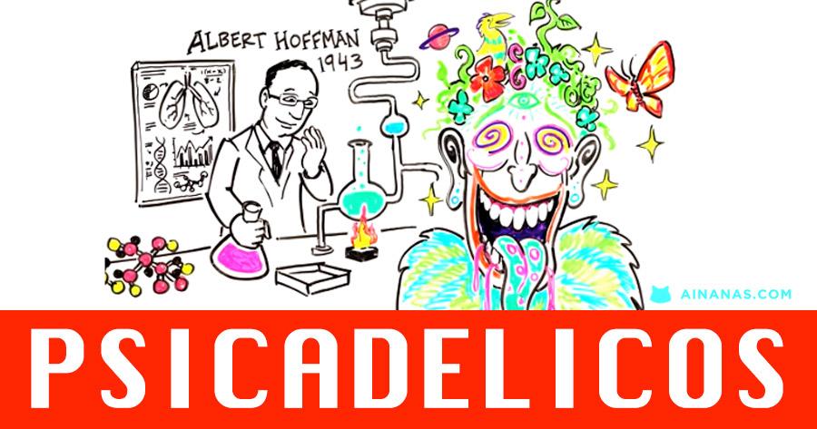 PSICADÉLICOS: voltarão a ser usados medicinalmente?