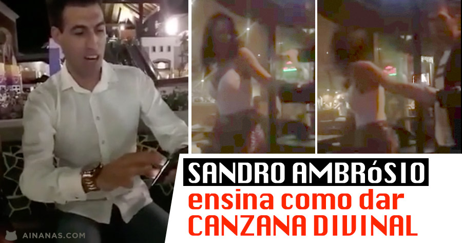 SANDRO AMBROSIO ensina CANZANA DIVINAL
