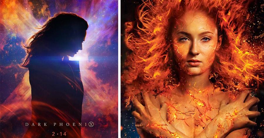 SOPHIE TURNER: Sansa de Game of Thrones é a FÉNIX NEGRA