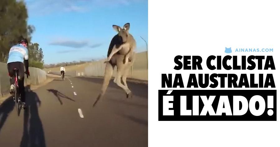 É LIXADO ser ciclista na Austrália