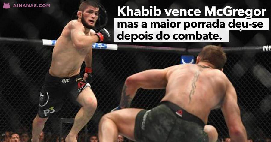 KHABIB vence McGregor e PORRADÃO explode depois do combate!