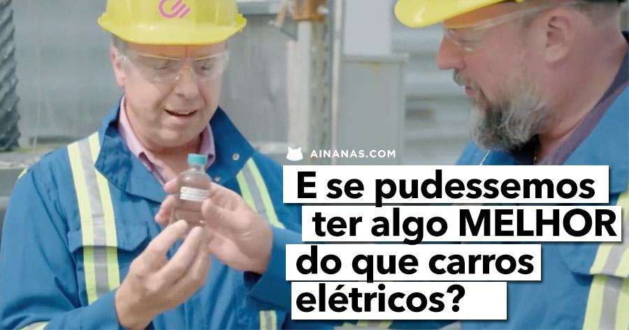 E se houvesse uma alternativa MELHOR do que o carro elétrico?