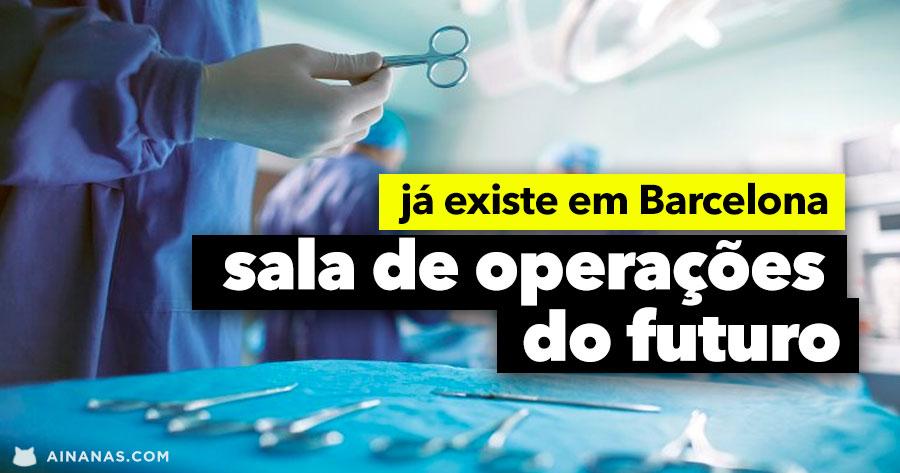 Sala de Operações do Futuro ( JÁ EXISTE )