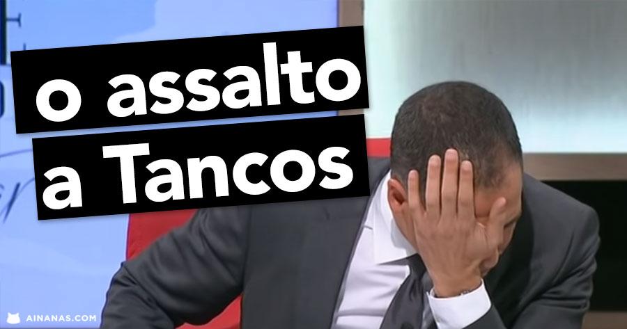 RICARDO ARAÚJO PEREIRA: o assalto a Tancos