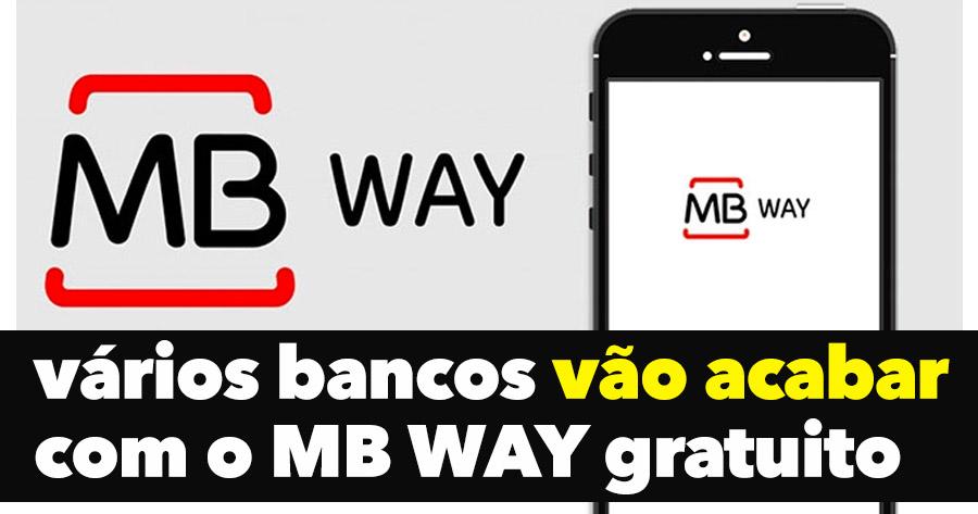 Vários Bancos vão acabar com MB WAY gratuito