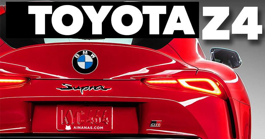 Toyota Z4 ou BMW Supra?