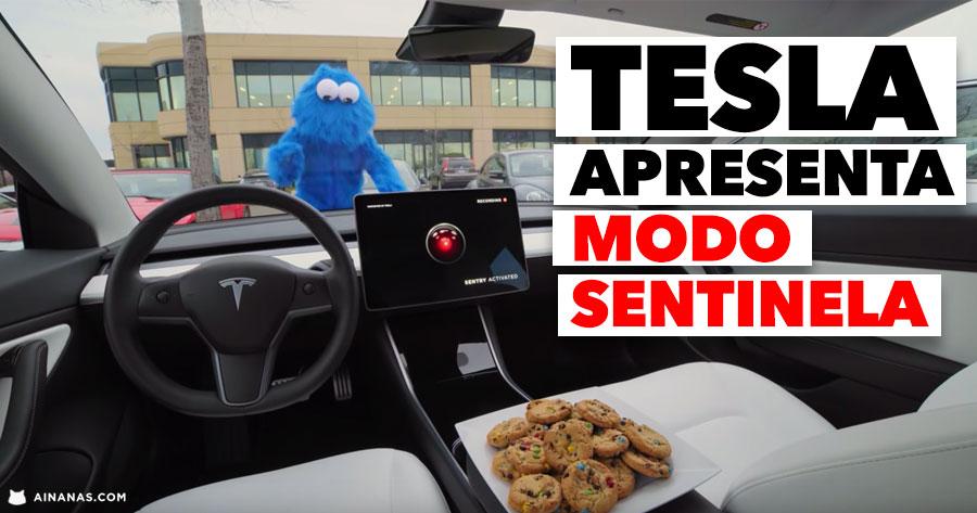 Tesla apresenta MODO SENTINELA