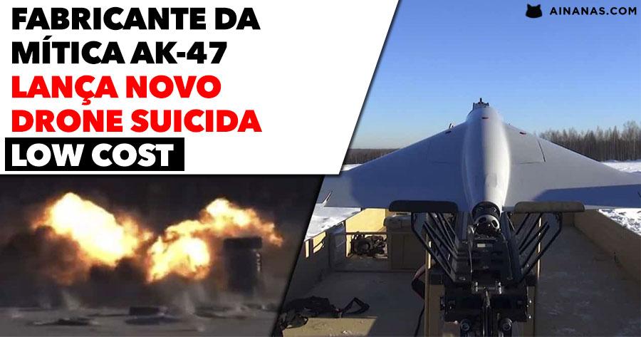 KALASHNIKOV lança drone bombista kamikaze ( low cost )