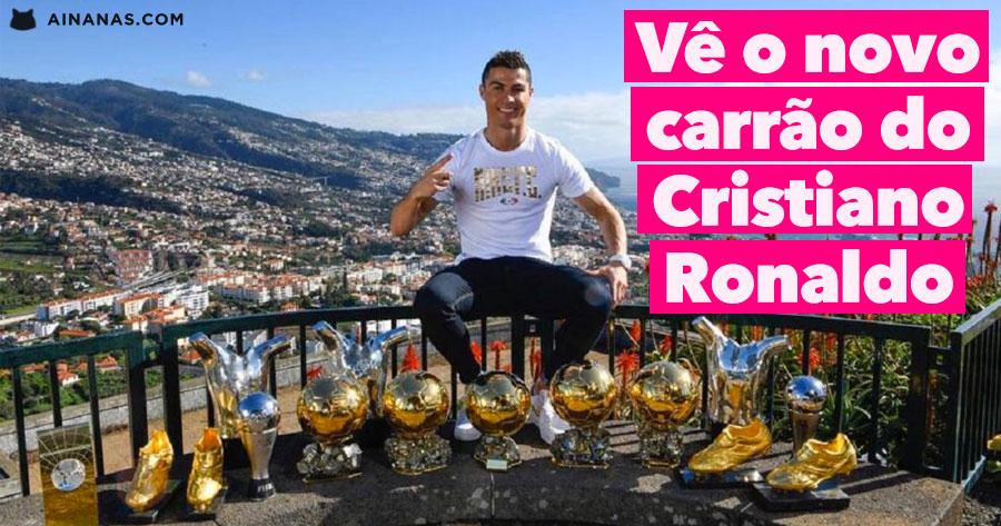Vê o novo CARRO DE SONHO do Cristiano Ronaldo