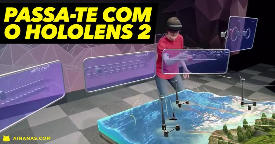 HOLOLENS 2: realidade aumentada mais intuitiva do que nunca
