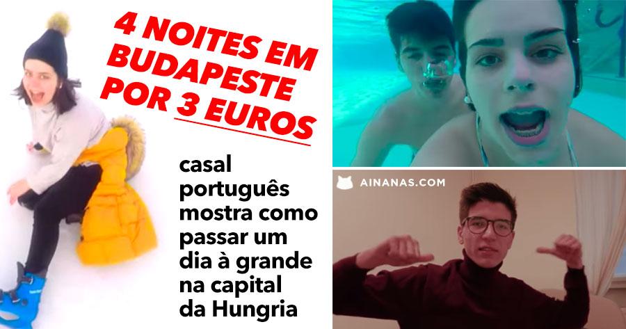 Casal Português mostra o que fazer com 1 DIA EM BUDAPESTE