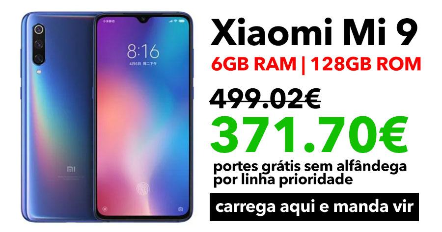 OPORTUNIDADE: Super preço no Xiaomi Mi 9