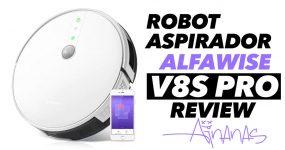 ALFAWISE V8S PRO: robot aspirador económico mas eficaz!
