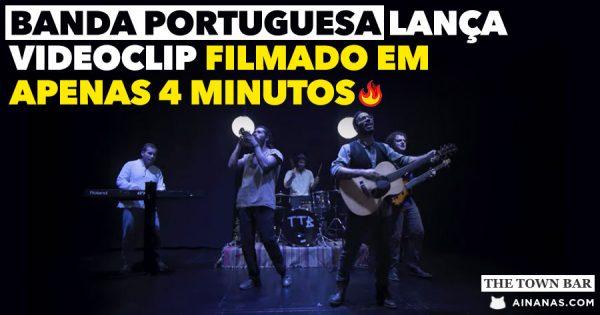 Portugueses THE TOWN BAR surpreendem com videoclip em 1 SÓ TAKE