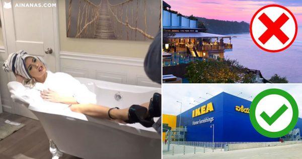 INFLUENCER fingiu férias em Bali… mas foi só ao IKEA