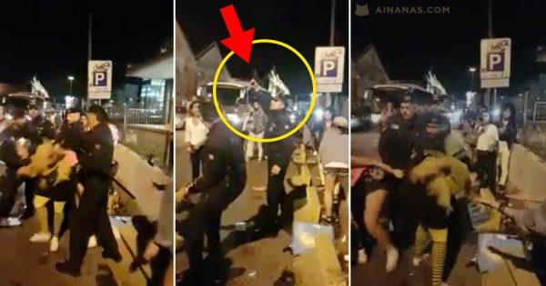 PSP dispara para o ar em confusão na Noite de Carnaval