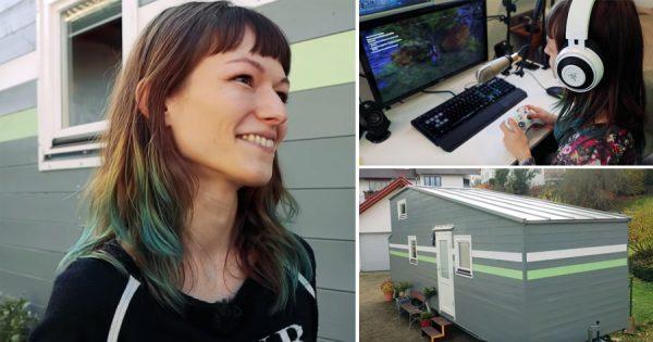 Descobre a MINI CASA que esta Gamer Profissional construiu para si