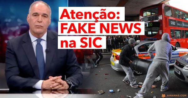 FAKE NEWS no Jornal da Noite da SIC