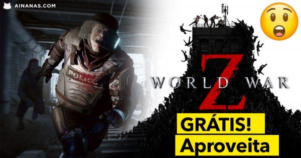Aproveita: WORLD WAR Z grátis na Epic Games!