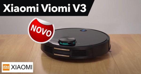 Novo Aspirador Xiaomi VIOMI V3 na Gearbest
