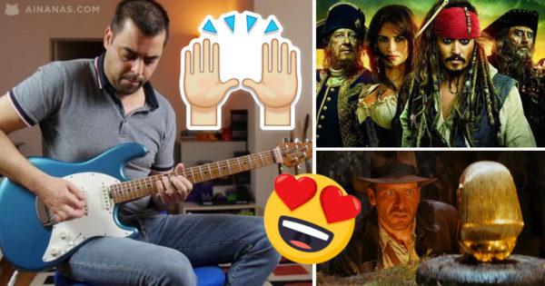 ÉPICO: Guitarrista português toca temas MÍTICOS do Cinema