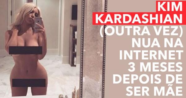 Kim Kardashian Nua na Internet