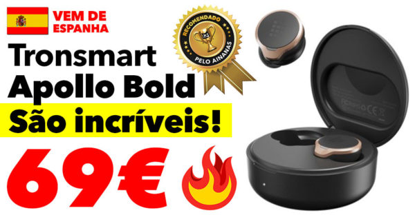 Tronsmart APOLLO BOLD 🔥 Earphones incríveis