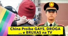 China Proíbe GAYS, DROGA… e BRUXAS na TV