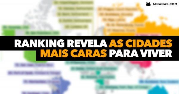 Ranking revela as CIDADES MAIS CARAS para viver