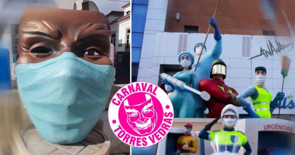 Carnaval de Torres Vedras Presta Homenagem aos Trabalhadores da Linha da Frente
