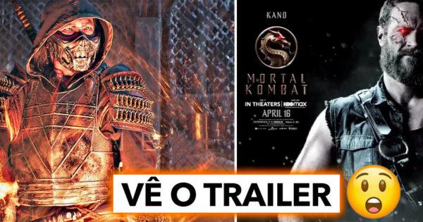 Revelado Trailer do filme MORTAL KOMBAT (2021)