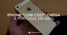 """iPhone """"Low Cost"""" Chega a Portugal em Abril"""
