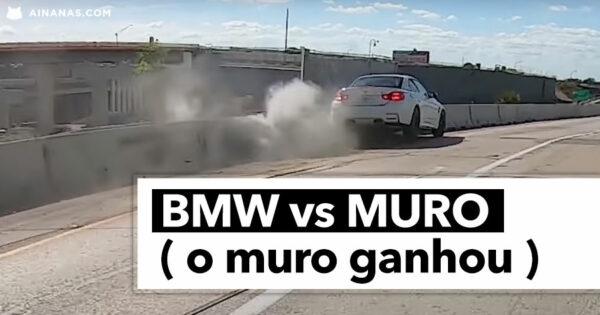 BMW vs MURO ( o muro ganhou )