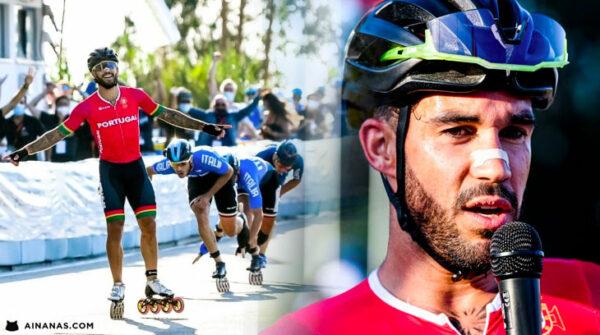 Diogo Marreiros está a SAQUEAR O OURO nos europeus de Patinagem de Velocidade