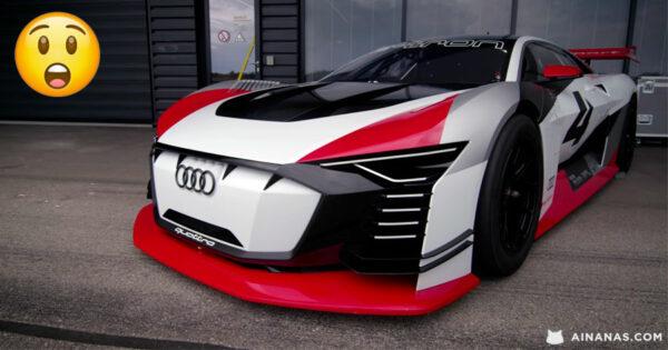 KEN BLOCK testa protótipo da Audi que Nasceu de um JOGO