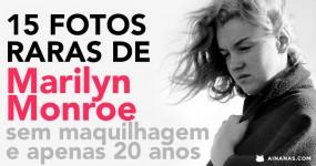 15 FOTOS RARAS de Marilyn Monroe com Apenas 20 Anos