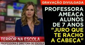 Divulgada Gravação da Professora que Insultou e Ameaçou Alunos em Braga