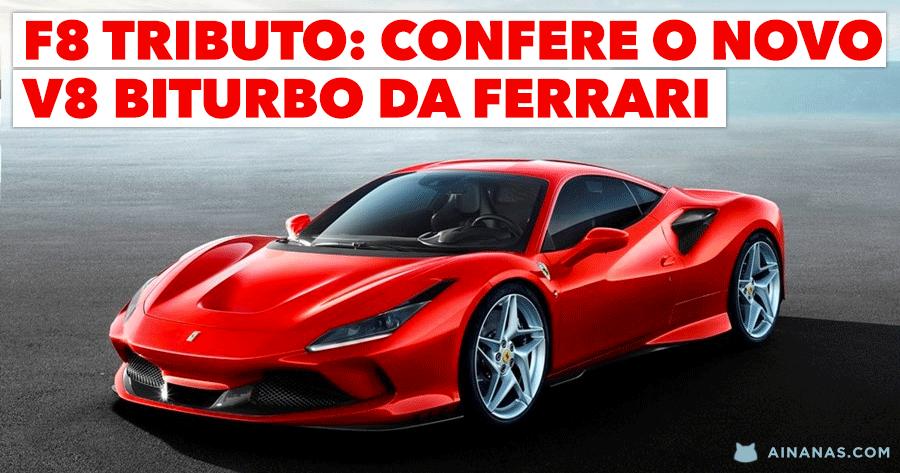 F8 Tributo: confere o Ferrari de Estrada MAIS POTENTE de Sempre