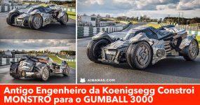Antigo Engenheiro da Koenigsegg Constroi MONSTRO para o GUMBALL 3000