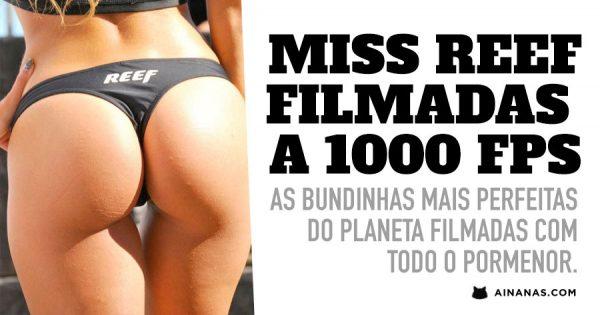 MISS REEF Filmadas em HD com uma MEGA CAM 1000 Fps