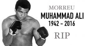 Morreu Lenda do Boxe Muhammad Ali