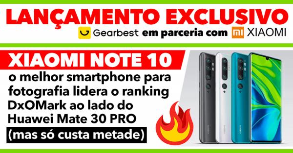 NOVIDADE EXCLUSIVA: Xiaomi Mi Note 10