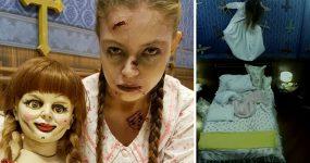 """""""Pegadinha"""" do The Conjuring 2 está mais assustadora do que o filme!"""
