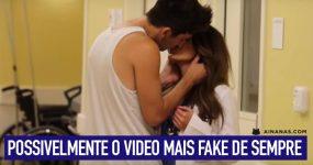 """""""Beijar médicas"""" é provavelmente o video mais fake que já vimos"""