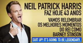 SUIT UP: Neil Patrick Harris faz hoje 43 anos