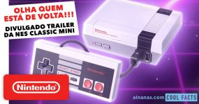 Lembras-te da mítica NES? Vai voltar numa edição especial