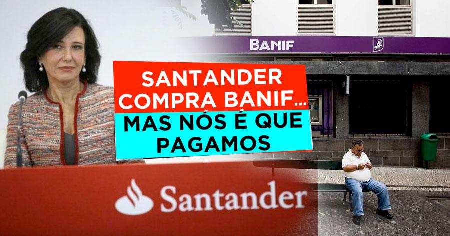 Banif vendido ao santander mas n s que pagamos - No mas 902 santander ...