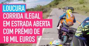 Despique no Facebook resolvido com CORRIDA ILEGAL e Prémio de 20 mil Dolares