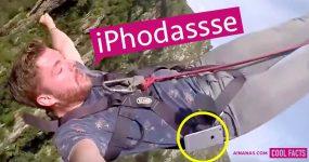 iPhodassse: Dude Perde iPhone a Fazer Bungee Jumping